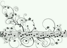 Muziek droedel