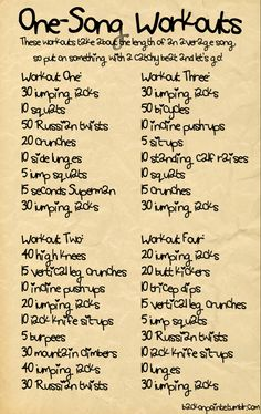 Easy exercise workout to get your blood pumping if you only have a couple minutes