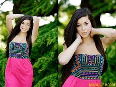 Class of 2013 Bellevue High School Senior Rep Danielle photographed by Michelle Moore at Discovery Park