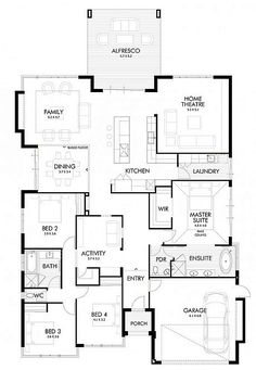 4795 best house plans images on pinterest arquitetura house contemporary single family house designed by webb brown neaves located in perth australia malvernweather Gallery