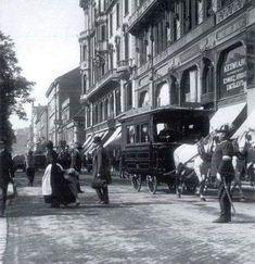 1906 József Attila (Fürdő) utca Old Pictures, Old Photos, Vintage Photos, History Photos, Budapest Hungary, Homeland, Historical Photos, Tao, Austria