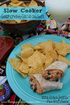 Recipe for Slow Cooker Sour Cream Salsa Chicken