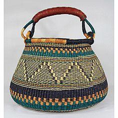 Accra Handwoven Wicker Basket (Ghana). A modern antiquity (!)