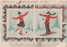 Love this! Free chart from ''Point de Marque IIme Série DMC ca. 1900. Visit the blog for more.