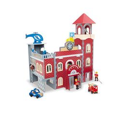This exciting new Imaginarium Police Station & Firehouse Play Set combines a… All Toys, Toys R Us, Kids Police, Set Game, Adventure Games, Community Helpers, Babies R Us, Police Station, Kids Store