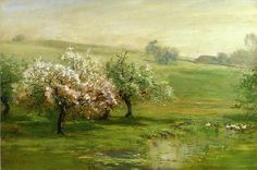 Arthur Parton - Blossoming Trees