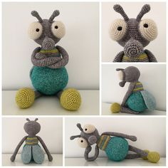 Ravelry: MartinaCrochets' Hugo, the fly