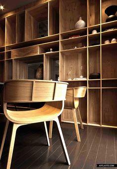 House Aupiais // Site Interior Design | Afflante.com