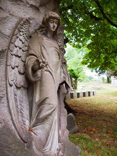 Guardian Angel of The Homewood Cemetery by G.Sprague1, via Flickr