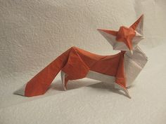 Fox. The River, The Mall, The Girl (me!) Folded from CP in tanteidan magazine 119