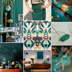 Mood Board Monday: Deep Turquoise