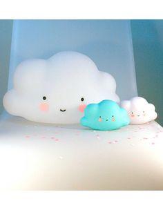 A Little Lovely Company - Mini Cloud Light: Blue