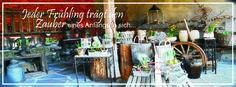 Ladengeschäft - Scheune Brunnenschmiede im Heimbacher Hof | Frühling, Rost, Dekoration in angesagter Shabby-Chic & Vintage Lebensart | BRUNNENSCHMIEDE.DE