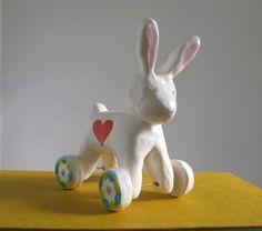 Pearson Maron: bunnies need wheels