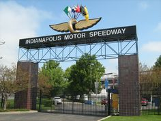 Indianapolis Motor Speedway in Indiana. We had to stop here on a road trip because my husband is loves racing and speed.