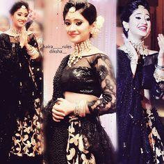 """Beautiful  @shivangijoshi18  #upcoming #keeshsangeet #yrkkh"""""""