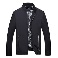 29.29$  Watch now - http://ali8w4.shopchina.info/go.php?t=32694297014 - Brand Men Classic Thin Jacket Lightweight Slim Fit Overcoat Male Navy Coats Solid Color Stylish Bomber Jackets 29.29$ #buyonline