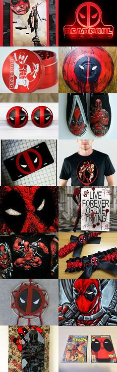 Deadpool Darkside: Do you dare not look -.-  by Jacquelyn on Etsy--Pinned with TreasuryPin.com