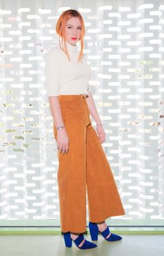Natalja :top / Petar Petrovpants / MSGMshoes / Petar Petrov Msgm, Stylish, Pants, Tops, Fashion, Gowns, Trouser Pants, Moda, Fashion Styles