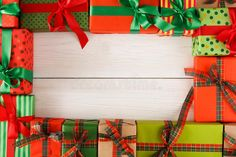 Lots of creative Christmas gift boxes on wooden background Royalty Free stock photography Creative Christmas Gifts, Christmas Gift Box, Christmas Photos, Wooden Background, Gift Boxes, Royalty, Gift Wrapping, Photography, Free