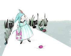 The Egg Hunt by tuesdaymourning on Etsy
