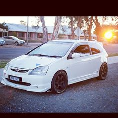 Ep3 white civic (I WANT IT )
