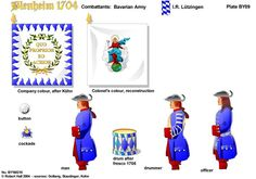 BLENHEIM 1704 BAVARIA:IR LUTZINGEN REGT OF FOOT  http://onmilitarymatters.com/images/RHBY09.jpg