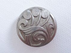 VINTAGE 20s- 40s ART NOUVEAU /DECO LIGHTWEIGHT SILVER METAL BUTTON~ARTS & CRAFTS   Collectables, Sewing, Fabric & Textiles, Buttons   eBay!
