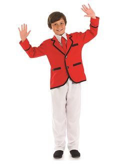 Boys Holiday Camp Helper childrens dress up costume by Fun Shack