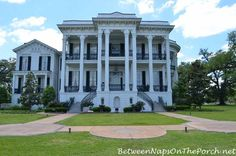 The Nottoway Plantation in White Castle, Louisiana