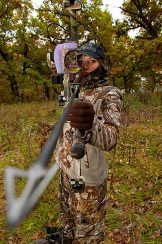Jennifer Pudenz of Winterset takes to the woods every weekend during deer bow-hunting season. She's one of a growing number of women who are taking up the sport.    Pudenz enjoys hunting with her husband and prepares for the season by going to local ar Deer Hunting in the Great State of Iowa  #iowa deer hunting  #deer hunting