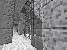 Stenen trap, gebouwd in Minecraft http://proevenengeloven.blogspot.nl/2016/07/minecraft-monday-kantoorgebouw-met.html