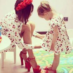 Anya-lánya ruha :)