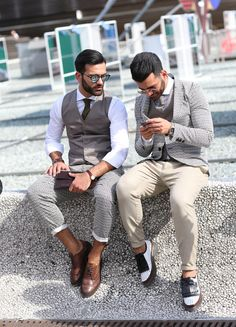 2014 - Pitti Uomo: biannual trade show in Florence, Italy where retailers, buyers and editors come together to view upcoming menswear collections - On the Street
