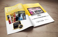 Anúncio Revista Casamentos e Festas Salvador