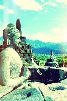 Borobudur, East Java, Indonesia
