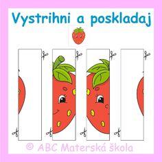 ABC Materská škola - Nový ŠVP pre MŠ - Zdravá zelenina a Záhradník - farebné predlohy na Interaktívnu tabuľu.
