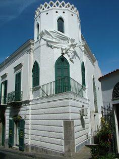 Ischia La perla del Golfo di Napoli: Torre Cigliano del Palazzo Cigliano a Forio