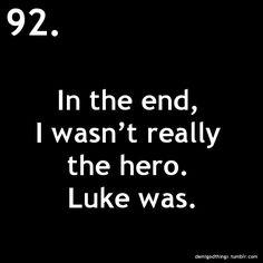 Luke was... :`(