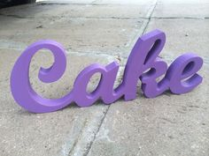 sweetheart table DIY or painted CAKE sign script wooden by SunFla