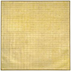 Agnes Martin retrospective at the Tate.