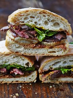 Jamie Oliver... Next-level steak & onion sandwich. In this recipe I take the joy of a steak sandwich to the next level by putting most of the focus on awesome onions – this is incredible!
