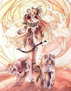 Sekhmet by Ameluria on DeviantArt Ancient Goddesses, Egyptian Mythology, Egyptian Goddess, Gods And Goddesses, Ancient Egyptian Art, Goddess Art, Goddess Of Love, Statues, Arte Obscura