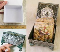 More art supplies from the hardware store (aluminum tape!)  Alpha Stamps News » Embossed Foil Box Tutorial