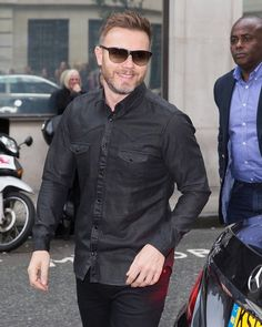 Gary seen arriving at BBC Radio 2 to do some Take That promotional work.  October 16th 2015.  #GaryBarlow #Spotted #London #Music #Promo by garybarlowspotted