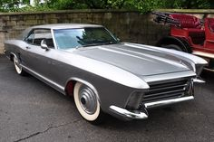 \'63 Buick Riviera Silver Arrow I .The Buick Riviera released in 1962, wasn't…