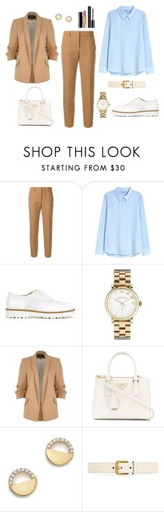 """Untitled #354"" by bajka2468 ❤ liked on Polyvore featuring MSGM, H&M, Hogan, Marc by Marc Jacobs, River Island, Prada, Chanel, Bloomingdale's and Gucci"