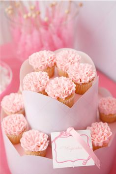 Pink Ruffles Cupcake - Cupcake Daily Blog - Best Cupcake Recipes .. one happy…