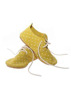 Zuzzi shoes in polka dot citrus www.hello-alyss.com/collections/zuzii