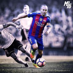 Andrés Iniesta 🔥  The #artist .  Double TAP for more 😉  edits .  #viscabarca #barcelona #fcb #barca #laliga #msn #messi #neymar  #iniesta #8 #legend #art #design #edit #new #star  #spain #2017 #nike #jersey #effect #adidas #campnou #10 #ramos #football #soccer #nice